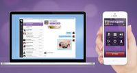 Skype beware, Viber flies past 200M users, lands on desktop The popular messaging app now lets people make free calls and send texts from a PC or Mac.