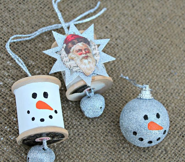 17 best images about christmas ornaments 2 on pinterest for Easy home made christmas decorations