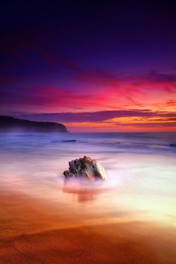 A New Dawn by Noval Nugraha | Taken from Turimetta Beach Sydney's Northern Beaches: Beach Sydney S, Adventure, Sunrises, Beautiful Amazing Photos, Awesome Sunrise Sunset, Color, Turimetta Beach, Australia ️, Northern Beaches
