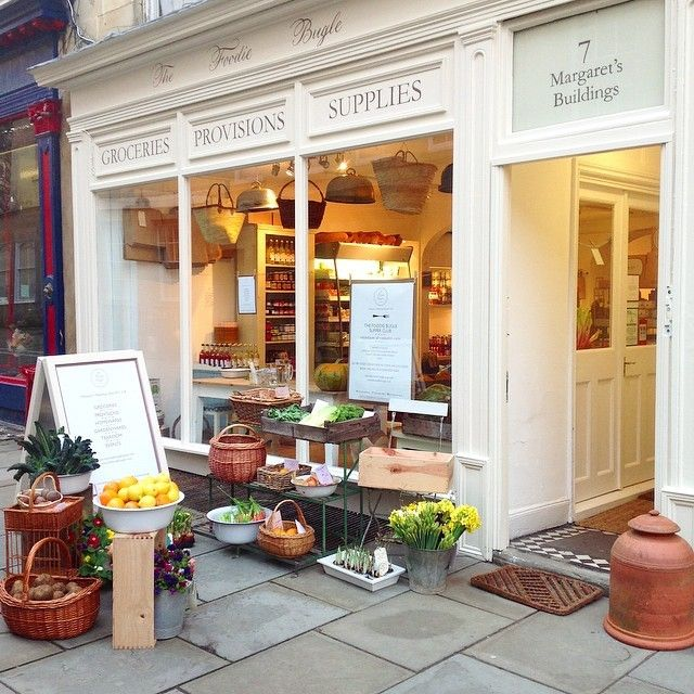 A little bit of happy / The Foodie Bugle Shop in Bath, England / Gardenista