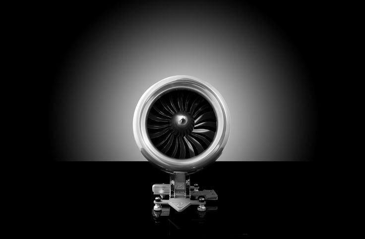Aviatore Veloce - Turbojet | High-end, functional mechanical art devices incorporating high tech materials, engineering excellence and craftsmanship.