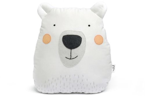 polar bear pillow