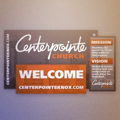 29 Best Welcome Center Signs Images On Pinterest Center Signs Church Foyer And Church Ideas