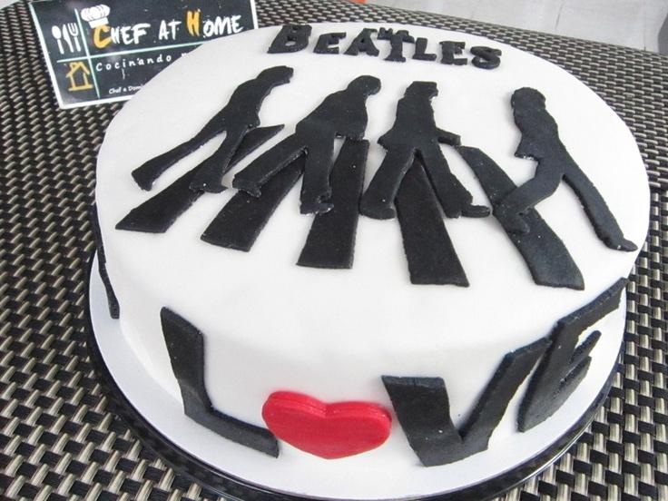 Beatles Cake. This is amazing.