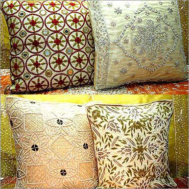Beaded Pillows