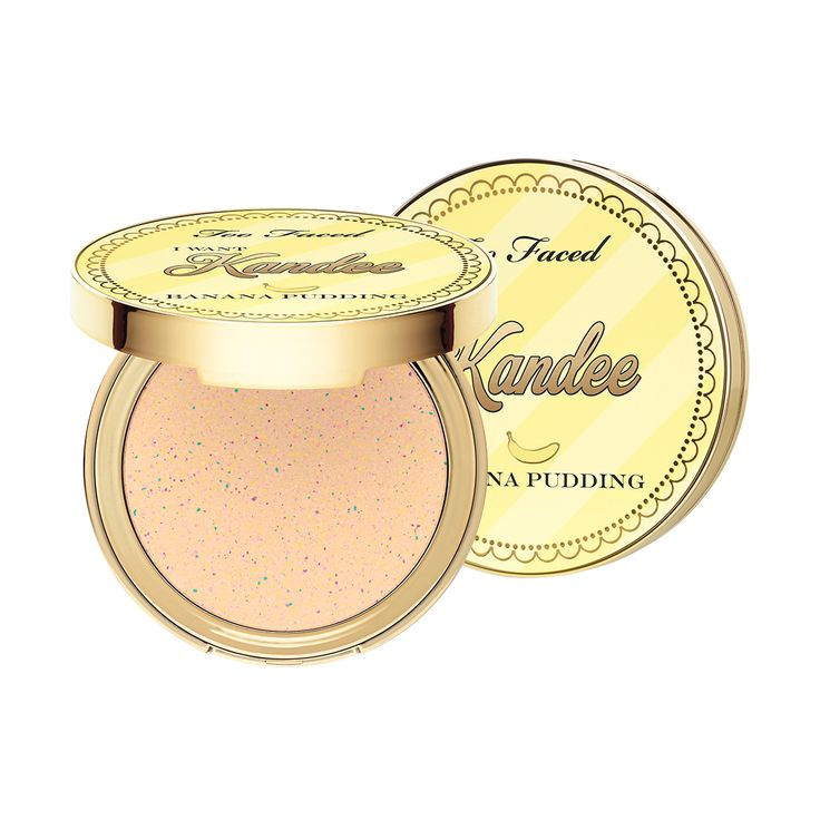 The I Want Kandee Banana Pudding Brightening Face Powder is a dream come true! Too Faced and Kandee Johnson deliver the flawless makeup finish you deserve.