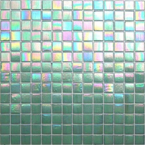 Melrose Mint - ColorGlitz Iridescent Glass Mosaic Tile