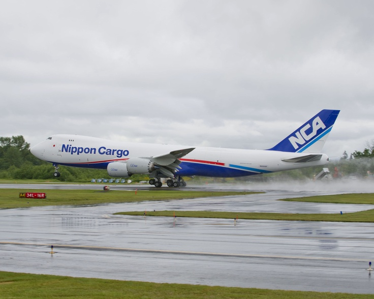 Boeing Delivers Nippon Cargo Airlines' First 7478