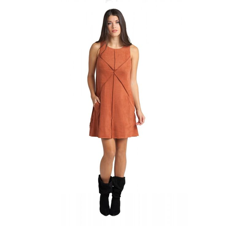 Φόρεμα σουέτ mini (5514)