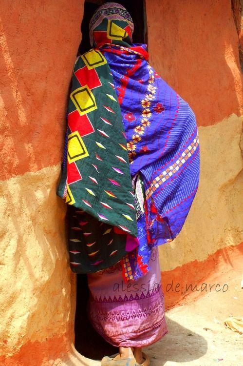 Borana woman in Ethiopia