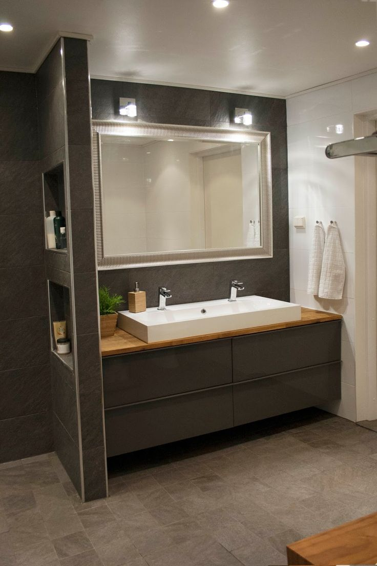 Modern and scandinavian bathroom