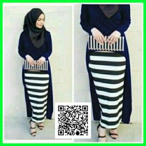 baju-maxi-gita-dress-modis-mgs31-navy