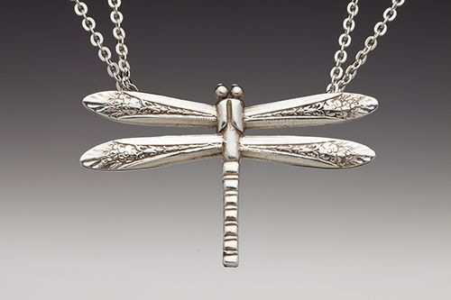 Silver Spoon Jewelry: Vintage Spoon and Fork Jewelry: Dragonfly Spoon Ring