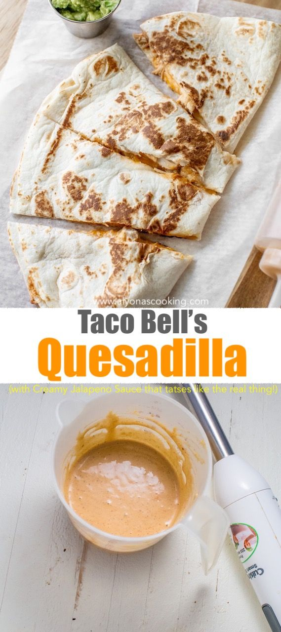 How To Make Taco Bell Quesadilla Recipe Alyona S Cooking Recipe In 2020 Taco Bell Quesadilla Chicken Quesadillas Taco Bell Mexican Food Recipes