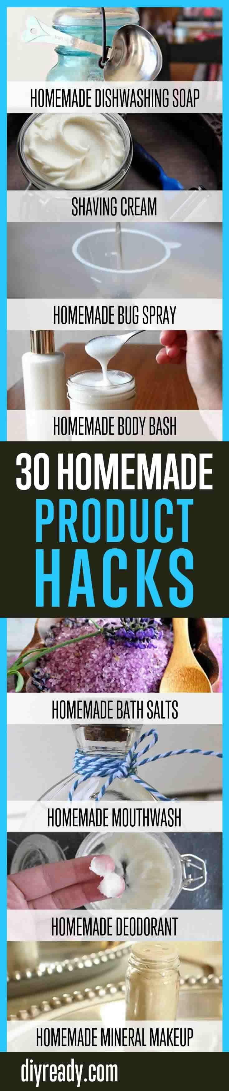 http   diyready com    homemade household product hacks never buy these products again  You By Cleaning At Will Home Again Hacks fitflops Ready  Household Make Product Homemade cha Never Buy cha Products DIY      Can You