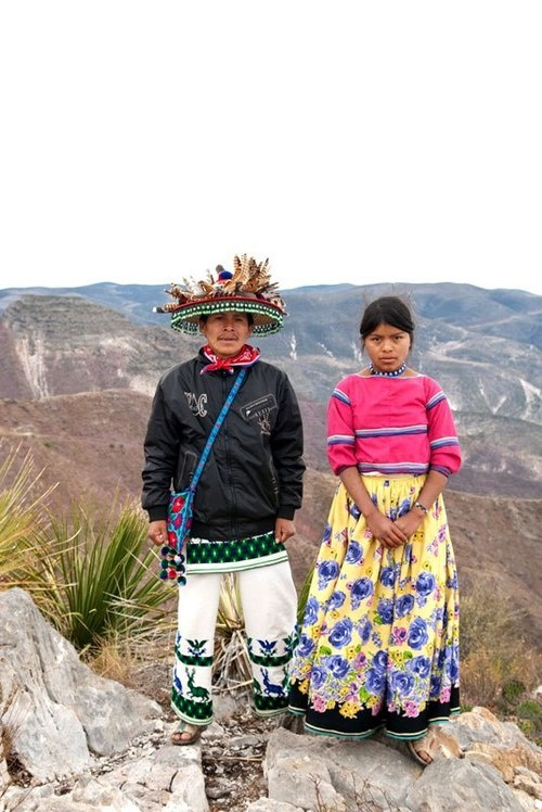 Wirikuta - the people in the mountains in western Mexico