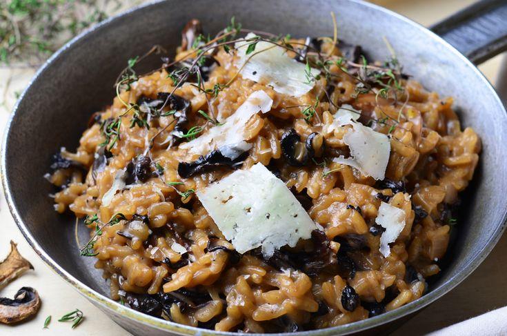 Receita: Risoto de cogumelos e azeite de trufas | Blog Sommelier Grand Cru