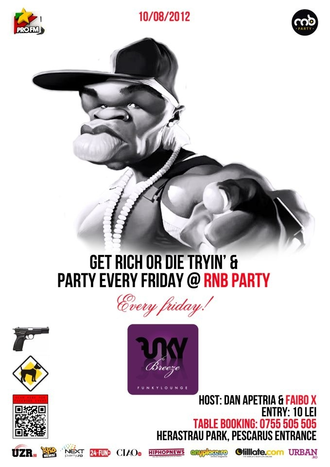 Friday 10/08 RnB Party by the Lake @ Funky Breeze Herastrau