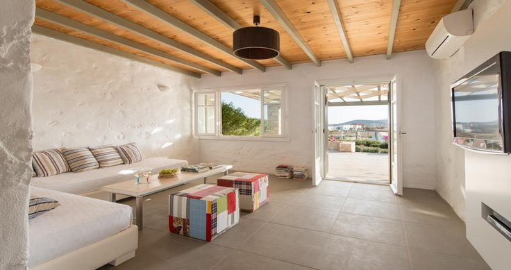 "Discover Villa ""Dianthi"", Paros Island, Greece ! You can rent it ! #luxury #villa #rent #holidays #greece #vacances #grece #alouer #aroomwithaview #sea #bedroom #decoration #swimmingpool #beautiful #sunset #luxuryvilla"