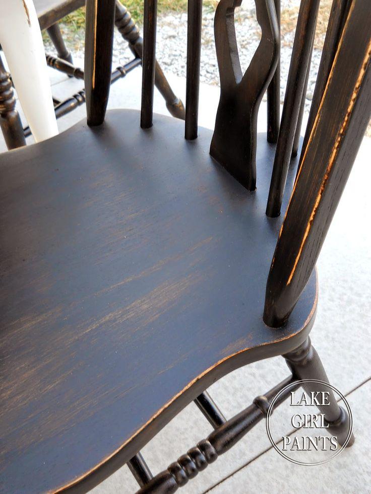 Best + Black distressed furniture ideas on Pinterest  Rustic
