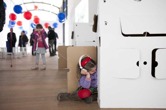 Grote Kunst voor Kleine Mensen in Museum De Paviljoens.© Jordi Huisman, Museum De Paviljoens