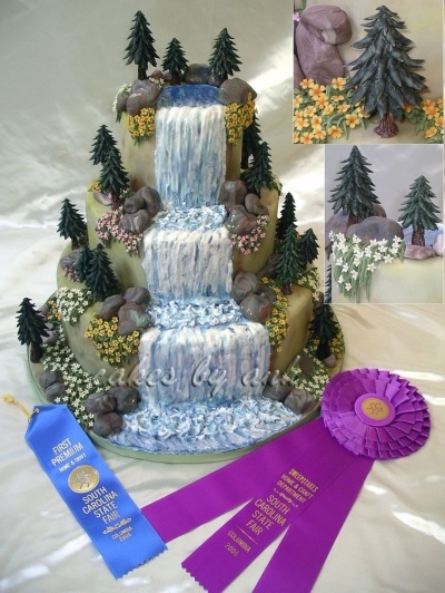 Nature Cake By cakesbyanh on CakeCentral.com