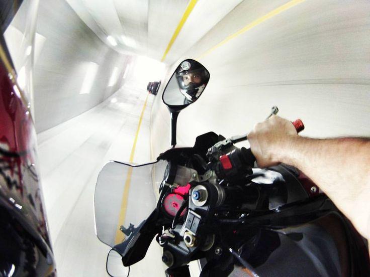 Espectacular #foto con la #DriftGhostS! Capta increíbles imagenes a bordo de tu #moto con las #cámaras #Drift. #LiveOutsideTheBox!