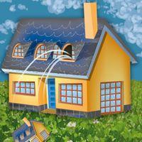 tirar la casa por la ventana (vía www.bspelling.org) - gastar mucho dinero
