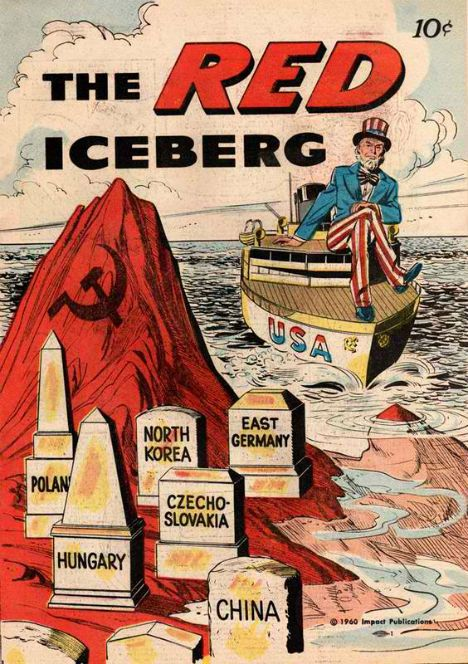 Cold War Ads The Red Iceberg