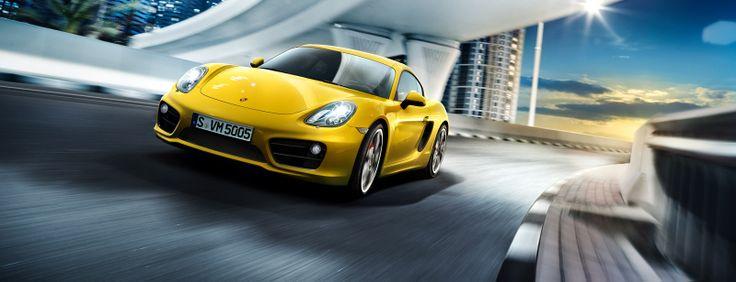 Cayman S - All Cayman Models - All Porsche Models - Dr. Ing. h.c. F. Porsche AG