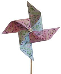 Kids Show And Tell About Toy Pinwheels