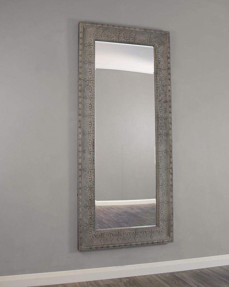Large Grey Wall Mirror