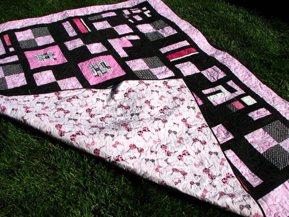 291 best Quilts, Blankets, & Fabric Awareness Ribbon DYI Projects ... : cancer quilts for sale - Adamdwight.com