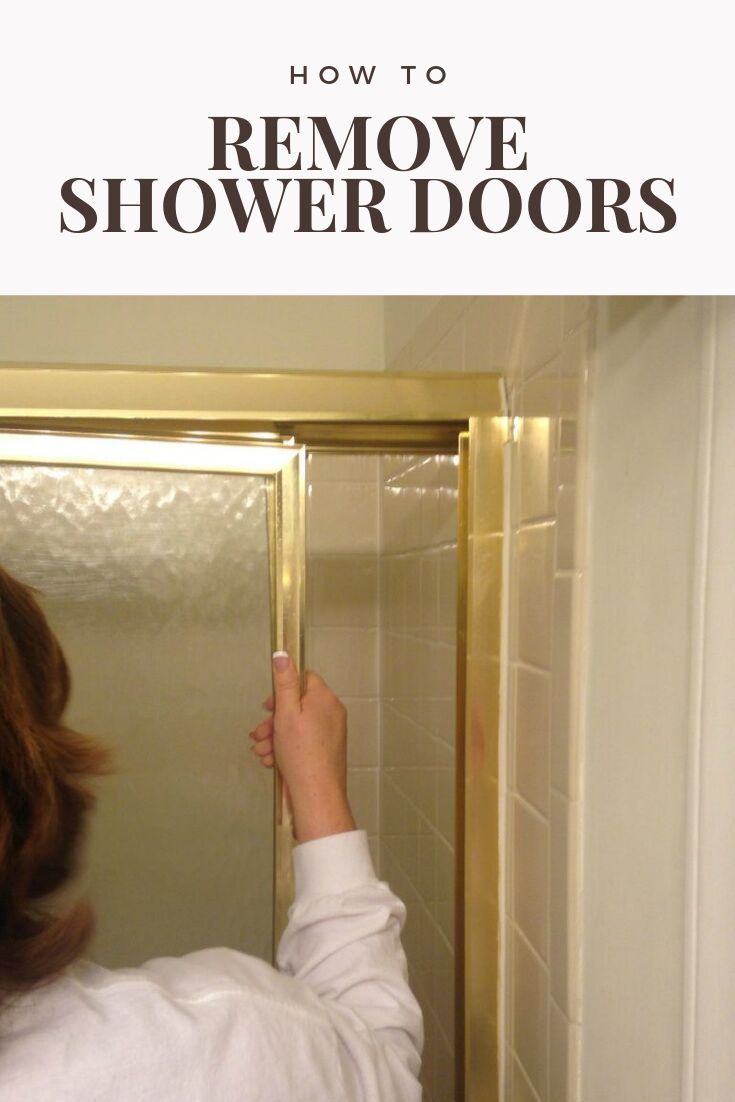 How To Remove Sliding Shower Doors Shower Doors Framed Shower