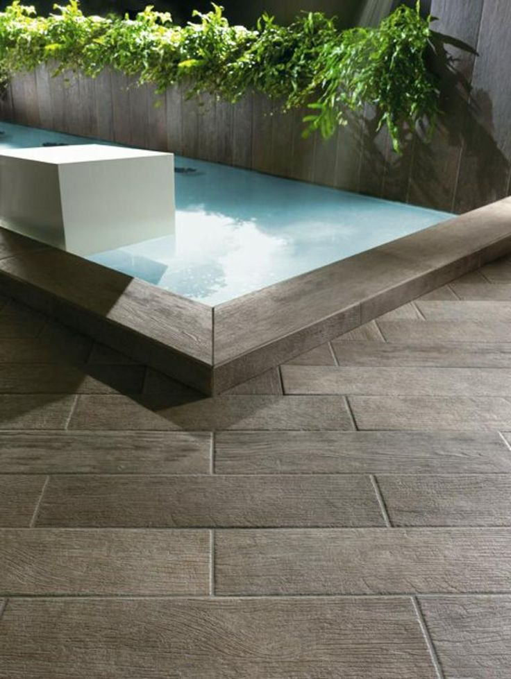 19 best carrelage piscine images on pinterest swimming - Carrelage exterieur imitation bois ...