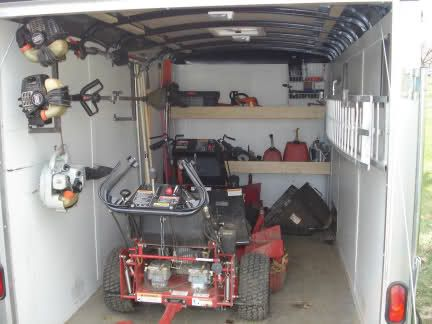 What does your enclosed trailer look like - Page 4 - LawnSite.com™ - Lawn  Care & Landscaping Business Forum, Discuss News & Reviews | lawn care |  Pinterest ... - What Does Your Enclosed Trailer Look Like - Page 4 - LawnSite.com