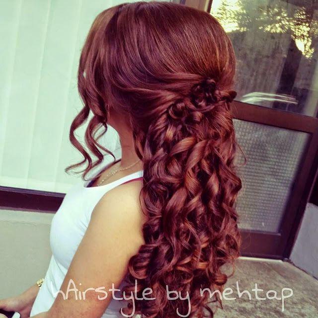 Die Besten 25 Hairstyle By Mehtap Ideen Auf Pinterest