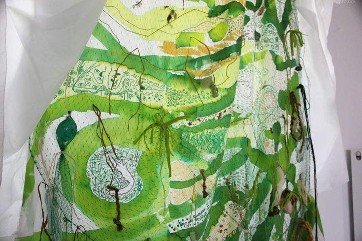 """Résultat de recherche d'images pour """"art contemporain installations textile"""""""