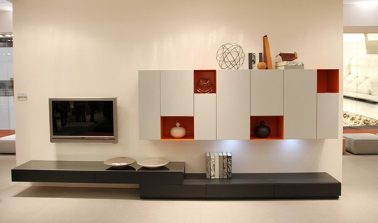 Storage solutions by Mercantini, via Apartment Therapy.