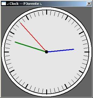 http://rosettacode.org/ - Clock in C++ for Windows