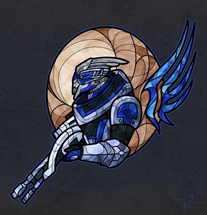 Garrus Vakarian by Talianora on DeviantArt. Mass Effect
