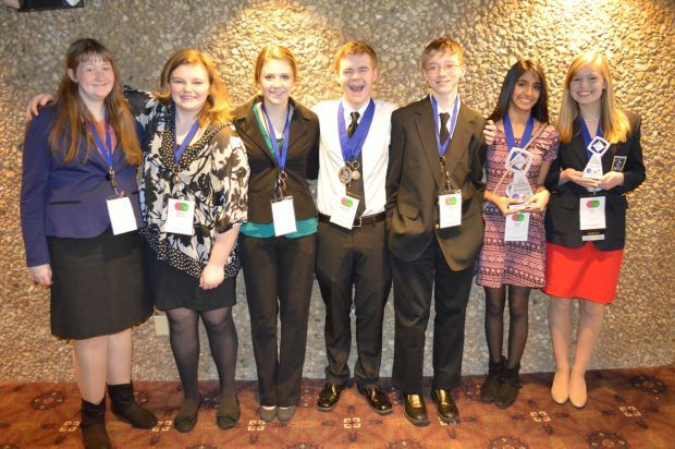 West Salem DECA Club does well at state