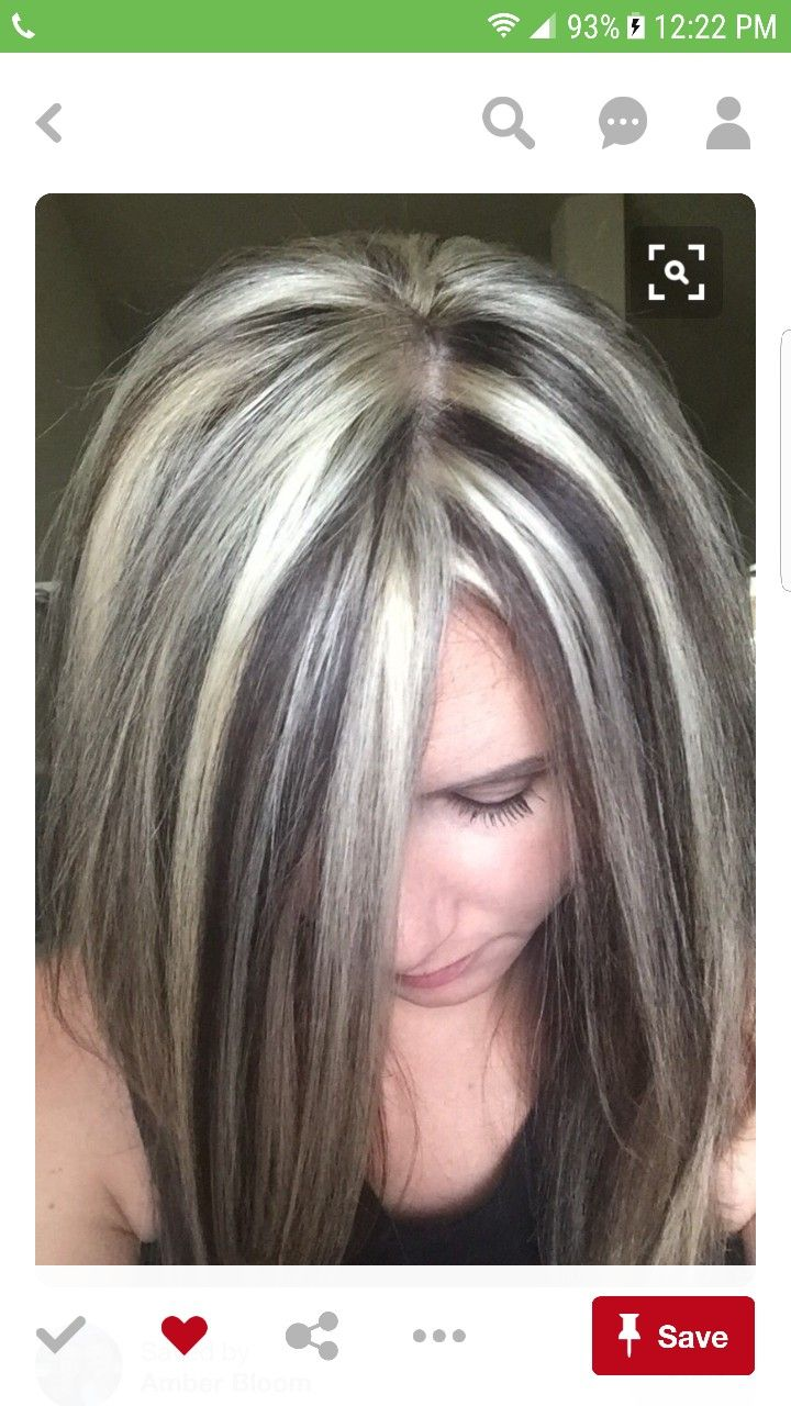 Pin By Kay Cee On Chunky Blonde Highlights Pinterest