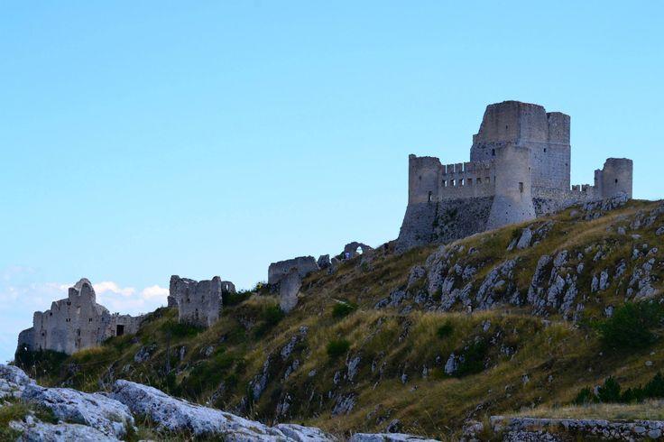 161 Rovine Castello - Rocca Calascio (L'Aquila) - Abruzzo (Foto di Stefania Capizzi)