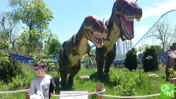 Review and Pics of Dinosaurs Alive! at Cedar Point... http://oaklandcountymoms.com/dinosaurs-alive-cedar-point-review-pics-37411/