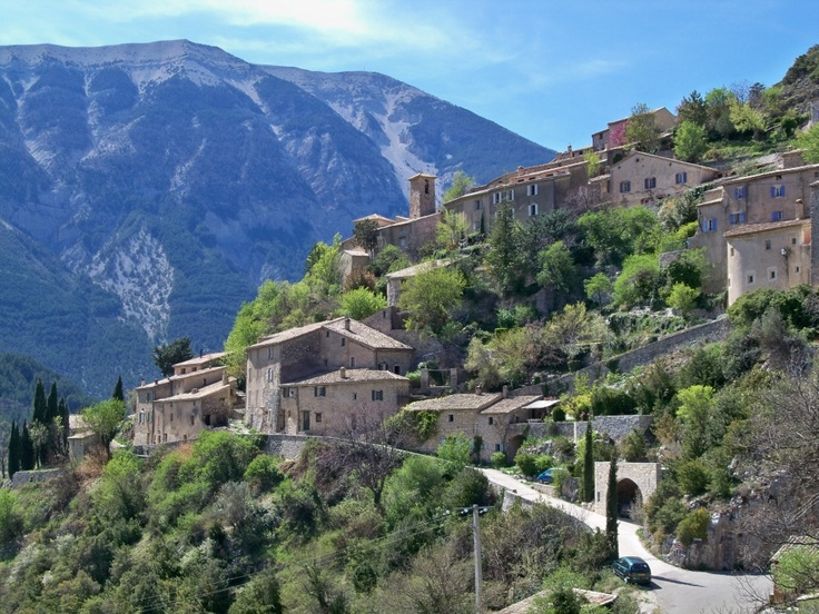 Brantes, Provence, France