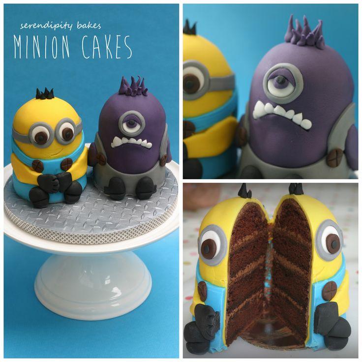 Minion Birthday Cake Uk Cake Recipe