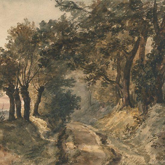Bromley Hill By Peter De Wint Landscape Artist Landscape Image