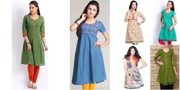 """A-line Kurtis"" Awesome list on #kurtis #ethnic by @garimalsr #fashion"