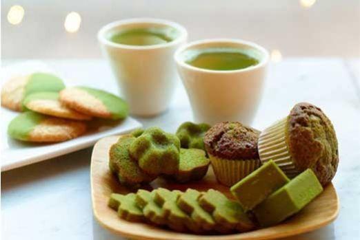 Matcha Green Tea Goodies!: Health Food, Matcha Green Teas, Shortbread Cookies, Teas Assort, Sweet Tooth, Teas Food, Teas Cupcakes, Drinks, Greentea